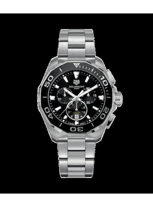 TAG HEUER Aquaracer Chronograph Czarny/Stal Ø43 mm CAY111A.BA0927