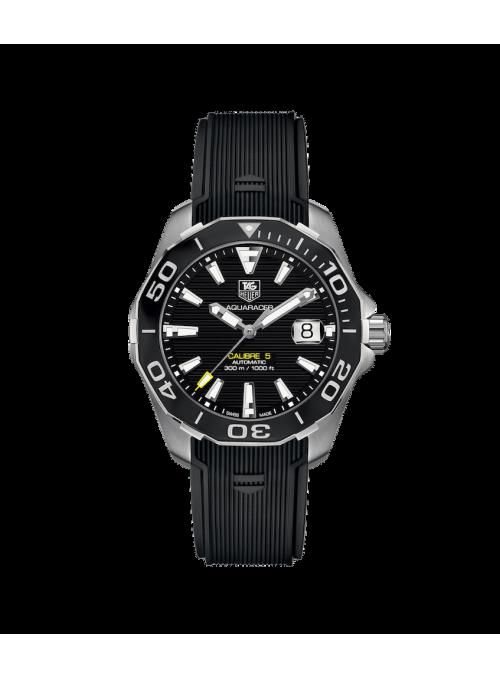 TAG HEUER Aquaracer Czarny/Guma Ø43 mm