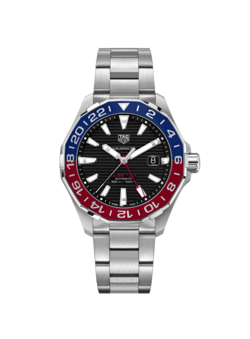 TAG HEUER Aquaracer Czarny/Stal Ø43 mm WAY201F.BA0927