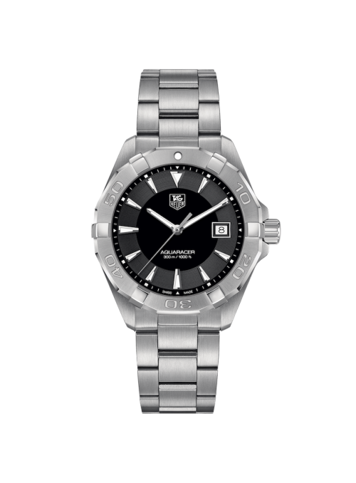 TAG HEUER Aquaracer Czarny/Guma Ø40.5 mm WAY1110.FT8021