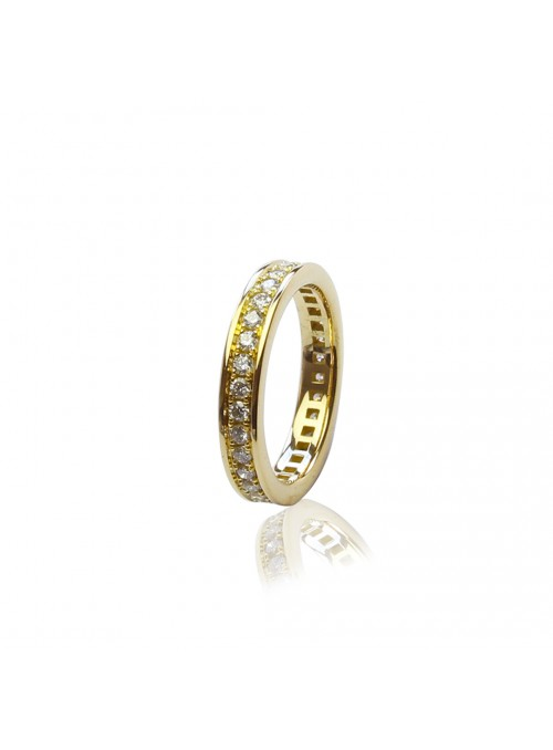 pierścionek z diamentami 0.71kt