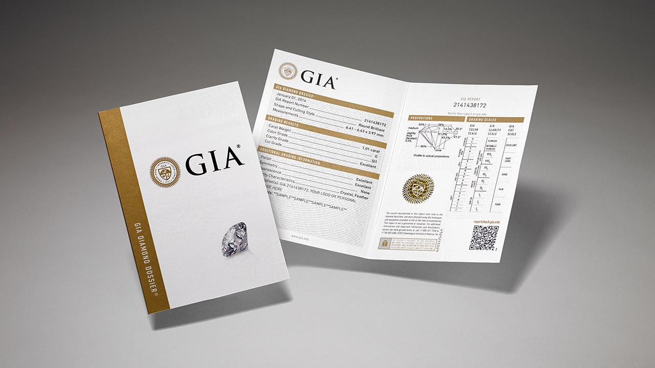 Certyfikat GIA