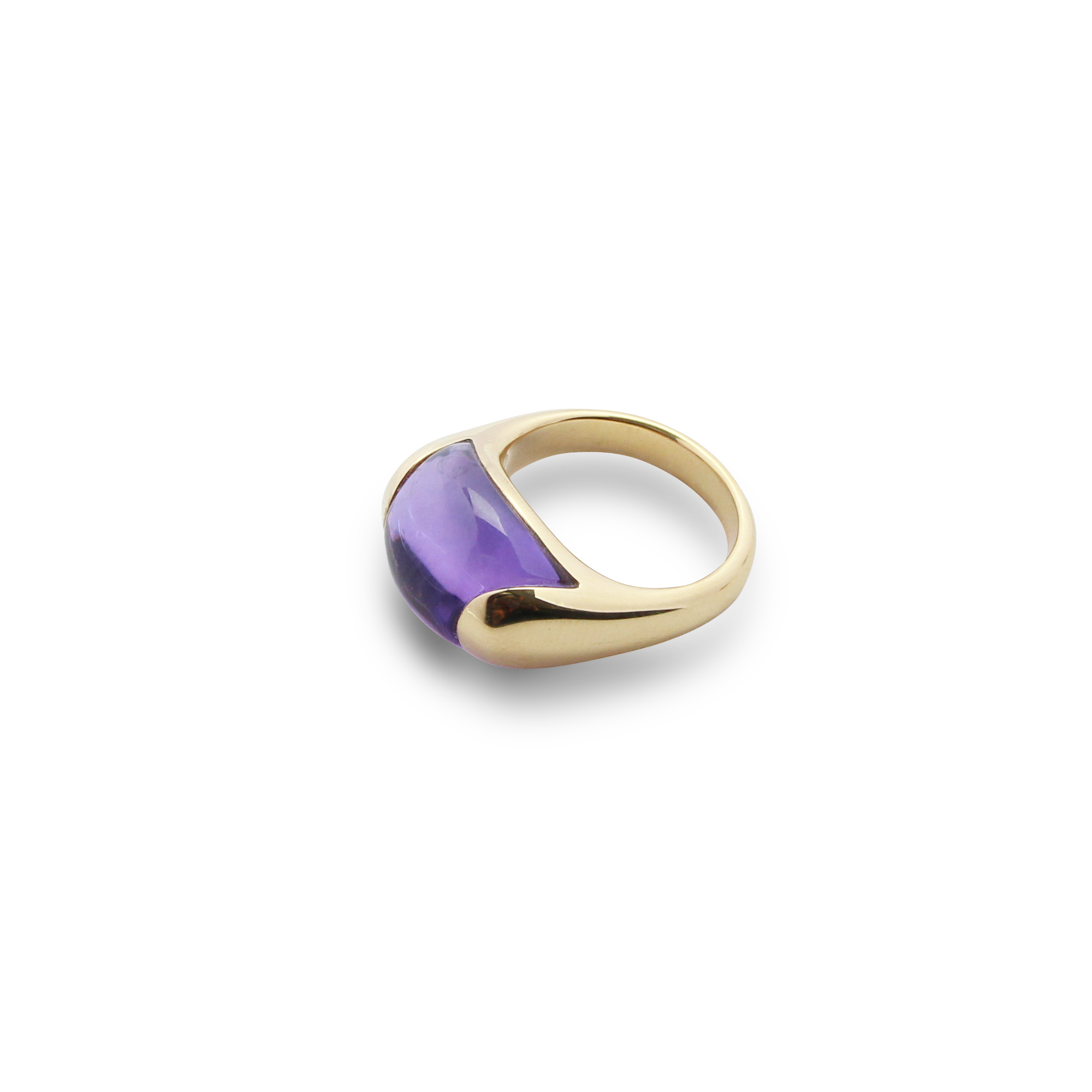 ring paradiso 1210 amethyst gold 18 carat