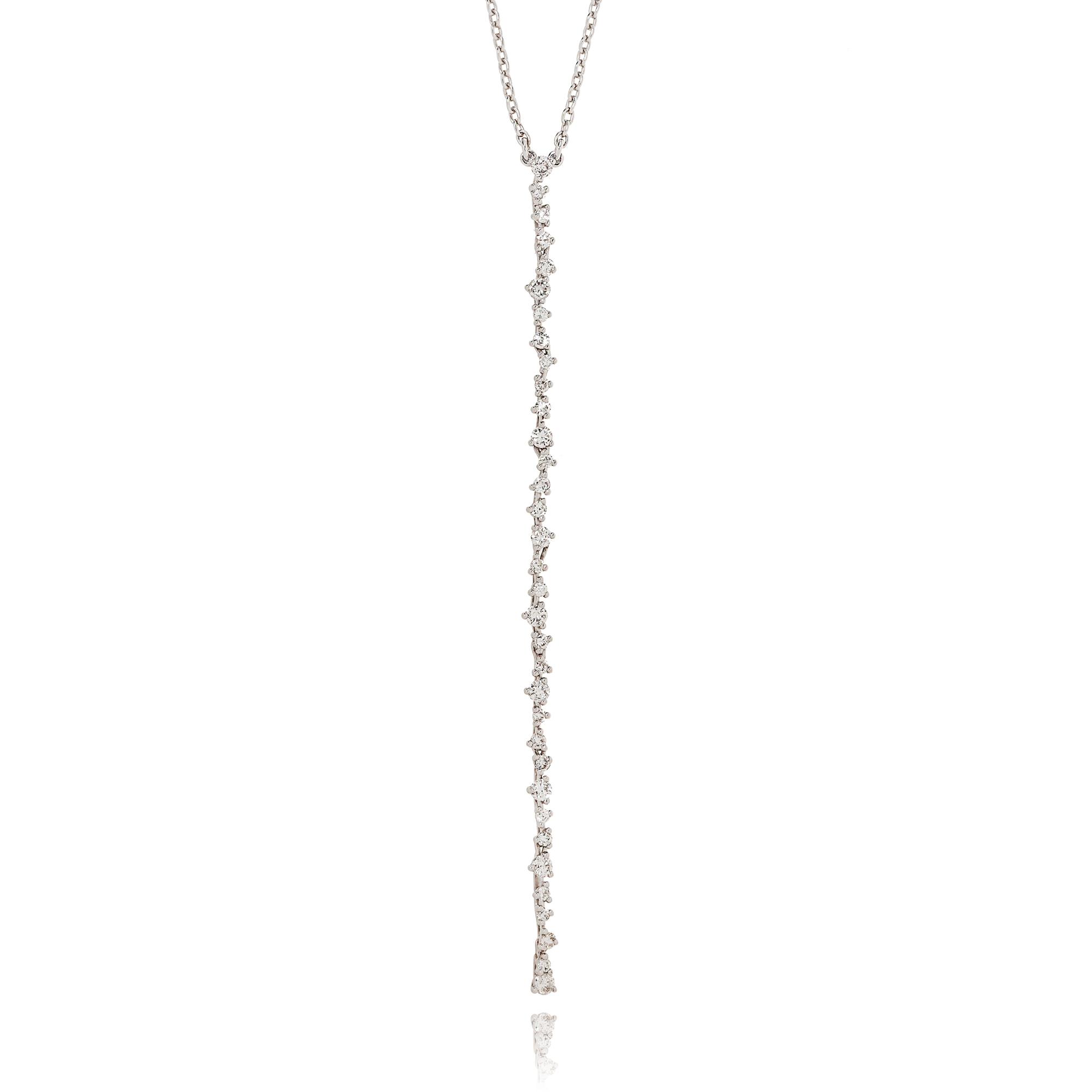 collier eden in oro bianco 18 carati con diamanti