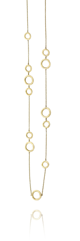 collana sahara in oro giallo 18 carati