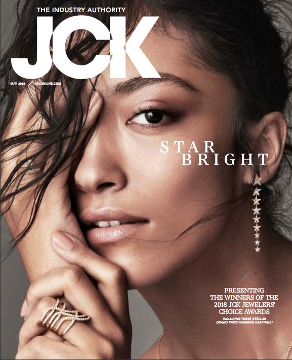 JCKMAGAZINE maggio 2018 colezione Parioli nastri copertina