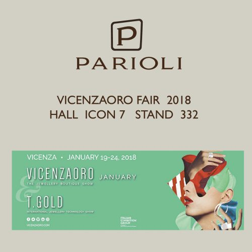 Parioli at vicenzaoro fair 2018