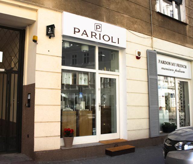 Gioielleria Parioli a Varsavia in via Wilcza 3